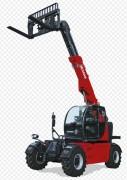 Chariot télescopique gros tonnage - Capacité de levage : 10000 kg