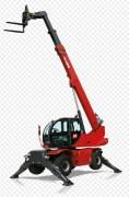 Chariot télescopique rotatif - Capacité de levage maximale 4.999 kg (CDG 500 mm)