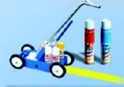 Chariot traceur aérosols