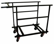 Chariot transport de tables rondes - Pour tables rondes Diamètre 150 ou 180 cm