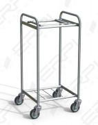 Chariot trieur universel acier - Pour linge sale ou déchets