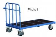 Chariot tubulaire pour charges lourdes - Capacité de charge : 500 - 1200 kg