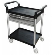 Chariots à plateaux plastiques - Charge utile (Kg) : 250