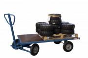 Chariots avant train pivotant charges lourdes - Charge utile (Kg) : 1000