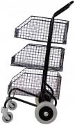 Chariots de distribution 3 corbeilles - Compact
