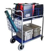 Chariots de distribution grande capacité - Grand volume de charge