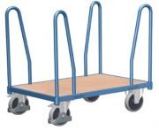 Chariots de manutention pour charges longues - Capacité de charge : 400 - 500 kg