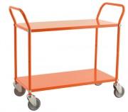 Chariots de service avec rebords - Capacité de charge : 250 kg