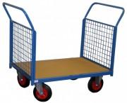Chariots dossiers et ridelles grillagés - Charge utile (Kg) : 500