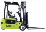 Chariots électriques à 3 roues - Capacité de charge : 1600 - 2000 kg - 500 mm centre de gravité