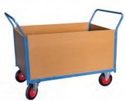 Chariots modulaire à 2 ridelles - Charge utile (Kg) : 500