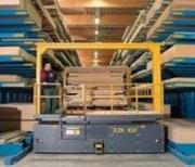 Chariots pour préparation de commande industrielle