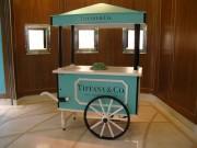 Charrette à glaces - Dimensions du chariot (L x I x H) : 1.26 x 0.785 x 2.08 m