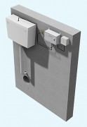 Chasse d'eau electronique - Système de chasse d'eau électronique pour toilettes et urinoirs publiques et d'environnement sécurisés