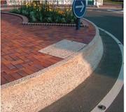 Chasse roues beton - Chasse roues architectonique lavé sur mesure