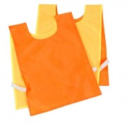 Chasuble nylon réversible fluo