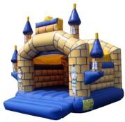 Château gonflable de sauts - Dimensions (m) : 5 x 5 x 4