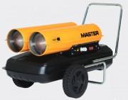 Chauffage air pulsé mobile à combustion directe - Puissance calorifique : 44 ou 88 Kw