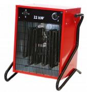 Chauffage électrique - Débit d'air (M³/h) : de 400 à 2200