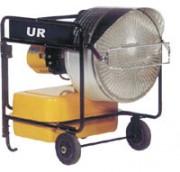Chauffage infrarouge fioul - Puissance 40 kW, 35 000 kcal/h - réservoir 60 l