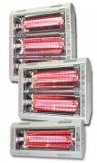 Chauffage panneau rayonnant - Atteint sa température de fonctionnement de 2200°C en 1 seconde