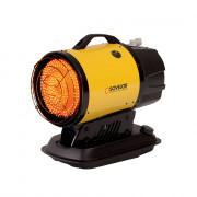 Chauffage portable à rayonnement infrarouge - Puissance calorifique maxi (Kw) : 17