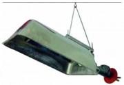 Chauffage radiant à gaz - Puissance électrique : 0,90 - 5,0 Kw / 850 - 4300 Kcal/h