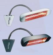 Chauffage radiant extérieur - Puissance : 1500 Watts