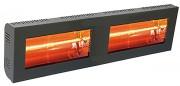 Chauffage radiant industriel double - Puissance: 3000 ou 4000  Watts