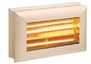 Chauffage radiant infrarouge - Puissance : 1500 ou 2000 Watts