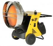 Chauffage radiant infrarouge portable - Puissance calorifique : 45.5 - 36,7 ou 45,5 Kw