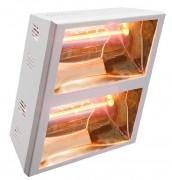 Chauffage radiant orientable 4000 Watts - Puissance : 3000 ou 4000 Watts