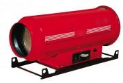 Chauffages suspendus au fuel - Puissance calorifique (Kw) : 55 - 65 - 85 - 105