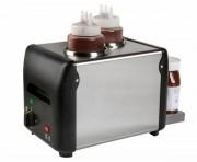 Chauffe chocolat en inox - Capacité : 1 ou 2 x 1 Litres - Puissance : 170 W -