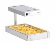 Chauffe frites à bac amovible - Dimensions : L 330 x P 550 x H 380 mm