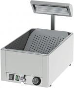 Chauffe frites GN 1/1 - Dimensions ( L x P x H )  :330 x  540 x 500 mm- Puissance : 1 200 W -Tension : 230 V