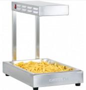 Chauffe frites résistance à quartz - Bac Gastro norme GN 1/1 amovible, profondeur 65 mm