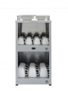 Chauffe tasse - Capacité : 144 tasses - Puissance : 140 W - Dim: 300 x 430 x 585 mm