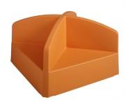 Chauffeuse maternelle - Structure monobloc
