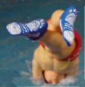 Chausson de piscine antibactérien