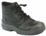 Chaussure de protection haute en cuir grainé - Pointure : De 36 à 47.