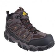 Chaussure de protection haute ergonomique - Tige en cuir gras hydrofuge - du 39 au 46