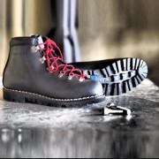 Chaussure de randonnée brodequin PARACHOC - Pointures : 41 à 45 - Noir