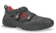 Chaussure de sécurité à scratch - Matière : Cuir - Pointure : 39 à 47