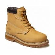 Chaussure de sécurité antidérapant - Ext: 100%cuir nubuck  - Bouts en acier