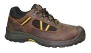 Chaussure de sécurité basse en cuir avec cordura - Pointure : De 39 à 47