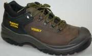 Chaussure de sécurité cuir avec cordura - Pointure : De 39 à 47