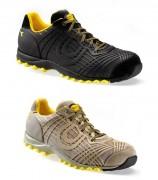 Chaussure de sécurité en tissu résille - Matière : Tissu résille - Coloris : Noir ou Roche lunaire