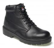 Chaussure de sécurité montante en cuir - Semelle PU double densité - Antidérapant - Unisexe