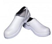 Chaussure de sécurité unisexe - Dessus: synthétique   - Semelle: 100% polyuréthane - Antidérapant